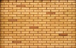Ljus - brun bakgrund för tegelstenvägg Den bruna tegelstenväggen texturerar Royaltyfria Foton