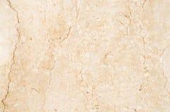 Ljus - brun marmortexturbakgrund, abstrakt naturlig textur Arkivbild