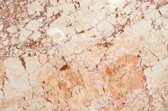 Ljus - brun marmortexturbakgrund, abstrakt naturlig textur Arkivfoto