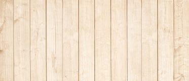 Ljus - brun träplanka-, vägg-, tabell-, tak- eller golvyttersida Trä texturerar royaltyfria bilder