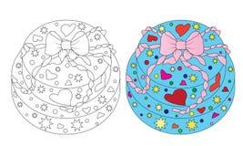 ljus cake vektor illustrationer