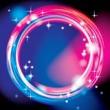 Ljus cirkelbakgrund Arkivbild