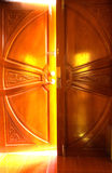 Ljus dörr Arkivbilder