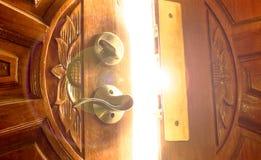 Ljus dörr royaltyfri foto