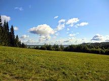 Ljus dag för landskap Royaltyfria Bilder