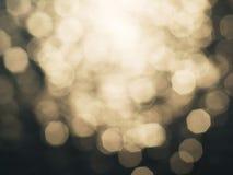 ljus defocused bokehbakgrund Royaltyfri Fotografi