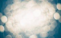ljus defocused bokehbakgrund Royaltyfri Foto