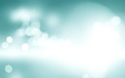 Ljus - design för himmel för blå bokehbakgrund suddig, molnig vit pai Arkivfoto