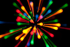 Ljus explosion arkivbild