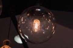 Ljus färgbulp Arkivbild