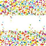 ljus färgrik designfärgpulversplat Royaltyfri Foto
