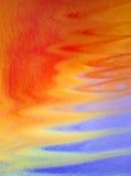 ljus färgrik flytande för konst Arkivfoto