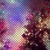 Ljus färgrik mosaikbakgrund stock illustrationer