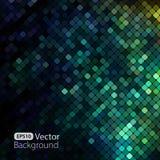 Ljus färgrik mosaikbakgrund royaltyfri illustrationer