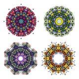 Ljus färgrik prydnad för cirkel Royaltyfri Bild