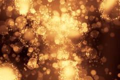 Ljus för Bokeh grungebakgrund - blått Arkivfoto