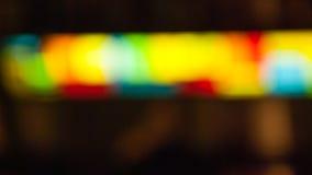 Ljus för elektriska lampor för suddighet färgglat Royaltyfri Fotografi