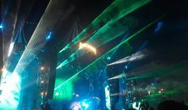 Ljus för etapp för musikfestival royaltyfri foto