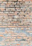 Ljus för färg för stuckatur för abstrakt bakgrund för tegelstenvägg gammalt - grå dir Arkivbild