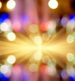Ljus för gata för Starburst fotoBokeh ljus ut ur Royaltyfri Foto