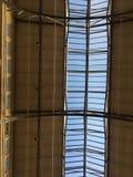 Ljus för himmel för ` s för byggnad för färja för San Francisco ` s original- arkivbilder