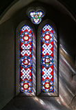 Ljus för målat glassfönster Royaltyfri Bild