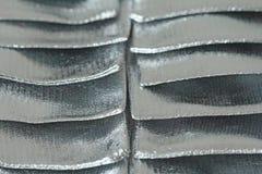 Ljus för silver metallisk och briljant bakgrund från Fotlga _ Royaltyfri Foto