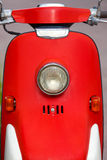 Ljus för tappningstilmotorcykel Arkivfoto