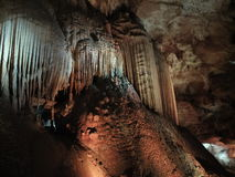 Ljus felik show i grottan av Prometheus Royaltyfria Foton