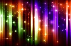 Ljus feriebakgrund, ljus effekt, linjer, ljus, blänker, Royaltyfri Fotografi