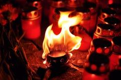 ljus flamma Royaltyfri Bild