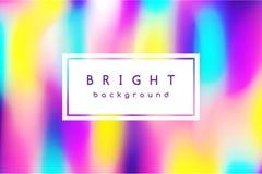 Ljus flerfärgad bakgrund av suddiga fläckar Arkivbild