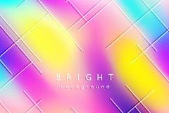 Ljus flerfärgad bakgrund av suddiga fläckar Arkivfoton