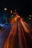 Ljus flyttningrörelse Arkivfoto