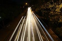 Ljus flyttningrörelse Arkivbild