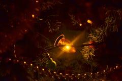 Ljus från en girland Royaltyfri Foto