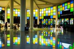 Ljus från exponeringsglaset Arkivbild