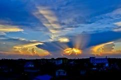 Ljus från himlen Royaltyfri Bild