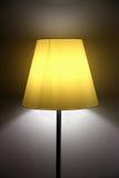 Ljus från lampan Royaltyfria Bilder