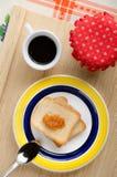 Ljus frukost Arkivfoto