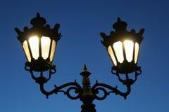 ljus gata 01 Fotografering för Bildbyråer