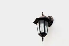 ljus gatatappning för lampa Arkivfoton
