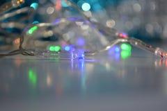 ljus girland Arkivfoton