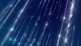 Ljus glänsande cyberspace som snett bildas Royaltyfria Foton