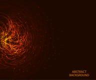 Ljus glödande bakgrund med elkraft fodrar med stället för text vektor vektor illustrationer