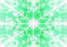 Ljus - grön kalejdoskopbakgrund Royaltyfri Foto