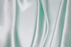 Ljus - grön siden- torkduk av krabb abstrakt bakgrund Royaltyfria Foton