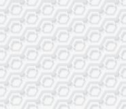Ljus - grå geometrisexhörning, sömlös modell Arkivbild