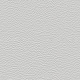 Ljus - grå sömlös textur för konstgjort läder Royaltyfri Foto