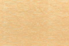 Ljus - gul lädertextur Royaltyfri Bild
